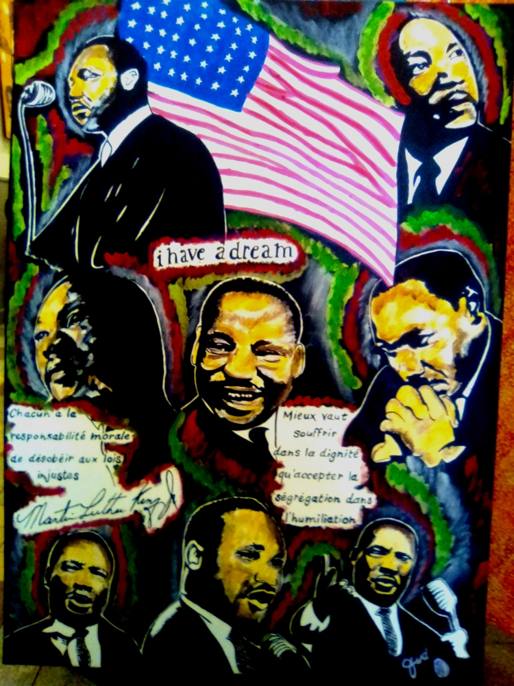 Martin Luther King by JUD
